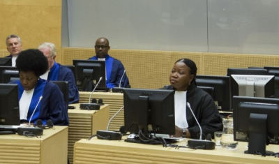 On 10 March 2015, six new judges of the International Criminal Court (ICC) were sworn in at a ceremony held at the seat of the Court in The Hague (Netherlands).