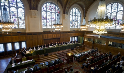 The International Court of Justice in session