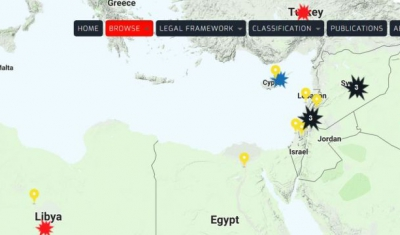 Map of the Rule of Law in Armed Conflicts online portal