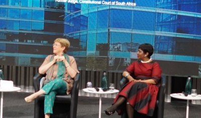 Panelists at the 2019 Nelson Mandela Human Rights Lecture