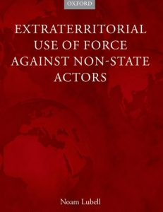Cover of the book Extraterritorial Use of Force Against Non-State Actors