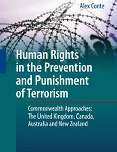 Cover of the book Human Rights in the Prevention and Punishment of Terrorism