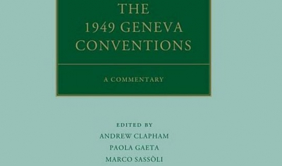 Cover of the Geneva Conventions