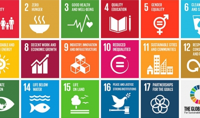 17 Global Goals for Sustainable Development