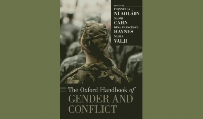 Cover page of the Oxford Handbook on Gender and Conflict