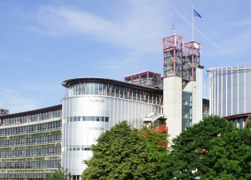Building of the European Court of Human Rights in Strasbourg.