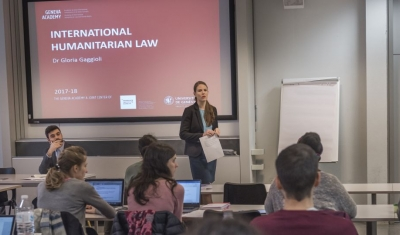 A LLM class with Professor Gloria Gaggioli