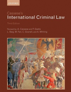 Cover of the book Cassese's International Criminal Law