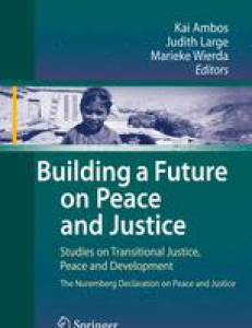 Cover of the book Pursuing Justice in Ongoing Conflict: A Discussion of Current Practice