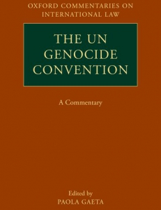 Cover of the book The UN Genocide Convention