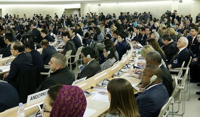 Human Rights Council: a general view of the room XX during the 31st regular opening of session, Geneva, Switzerland